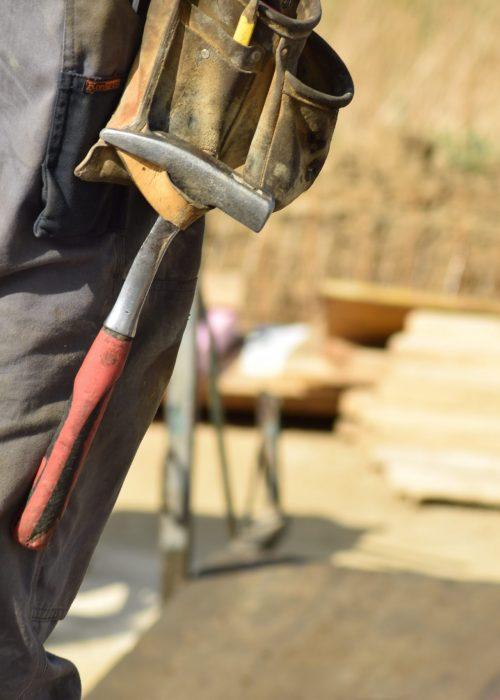 Canva - A Handyman at Work
